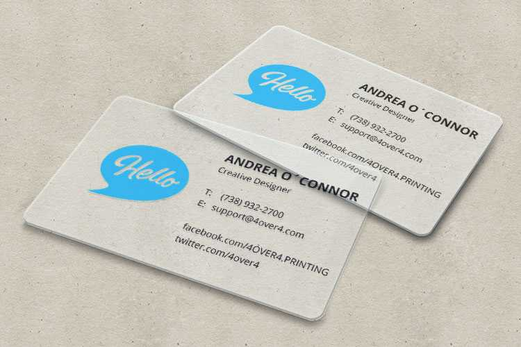 Business Cards To Get A Job